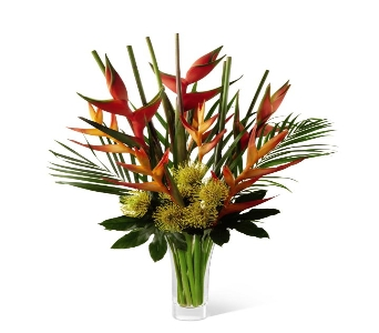 Striking Luxury Tropical Bouquet in Ogden UT, Lund Floral