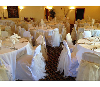 Chair Cover in Loudonville OH, Four Seasons Flowers & Gifts