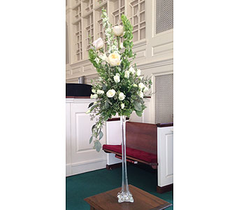 Tower Vase Arrangement in Wake Forest NC, Wake Forest Florist