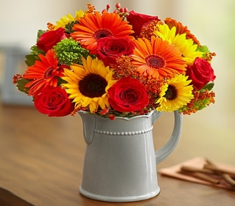 Harvest Spice Bouquet in Round Rock TX, Heart & Home Flowers