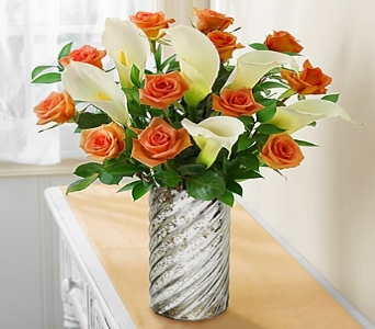 Rose Calla Lily Bouquet in Round Rock TX, Heart & Home Flowers