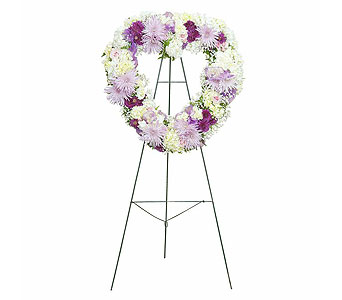 Sweetheart Standing Spray in Exton PA, Blossom Boutique Florist