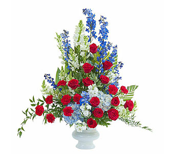 Honor Large Urn in Spartanburg SC, A-Arrangement Florist