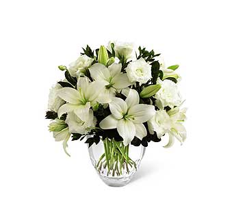 FTD White Elegance Bouquet by Vera Wang in Detroit and St. Clair Shores MI, Conner Park Florist