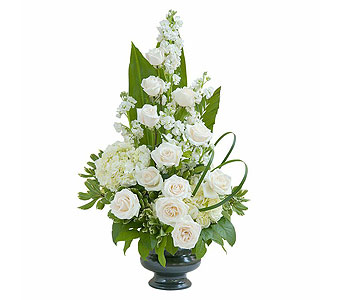 Elegant Love Urn in Mooresville NC, Clipper's Flowers of Lake Norman, Inc.