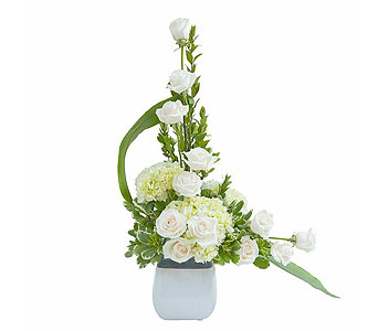 Elegant Flowing Love Tribute in Wellington FL, Wellington Florist