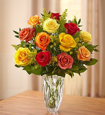 MARQUIS BY WATERFORD PREMIUM FALL ROSES in Jupiter FL, Anna Flowers