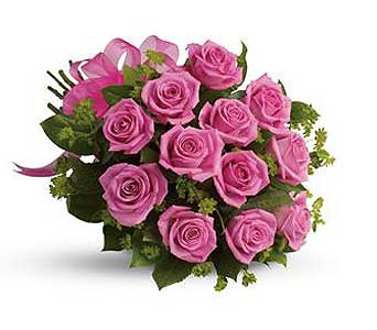Pink Roses in Truro NS, Jean's Flowers And Gifts