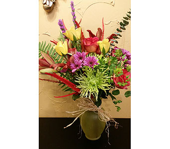 Custom Arrangement in Crystal MN, Cardell Floral