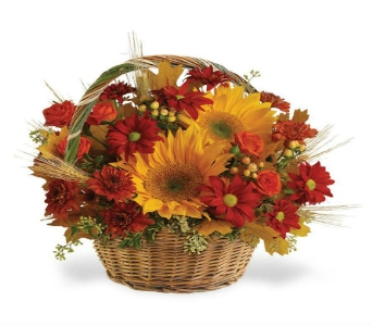 Fall Favorites Basket in Big Rapids MI, Patterson's Flowers, Inc.