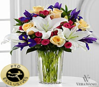 The FTD� New Day Dawns� Bouquet by Vera Wang in Round Rock TX, Heart & Home Flowers
