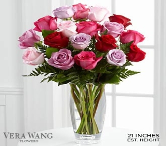 Captivating Color� Rose Bouquet by Vera Wang  in Round Rock TX, Heart & Home Flowers