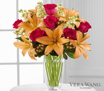 Luxe Looks� Bouquet by Vera Wang  in Round Rock TX, Heart & Home Flowers