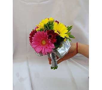 Mixed Gerbera Bouquet in Hales Corners WI, Barb's Green House Florist