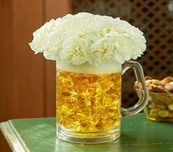 Beer Mug of Blooms in Allentown PA, Ashley's Florist