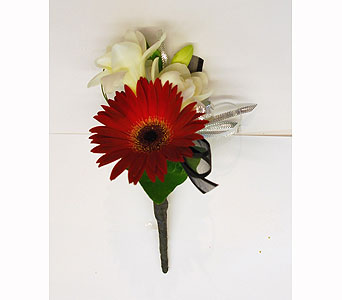 Brandon Boutonniere in Hales Corners WI, Barb's Green House Florist