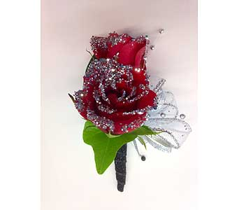 Mitch Boutonniere in Hales Corners WI, Barb's Green House Florist