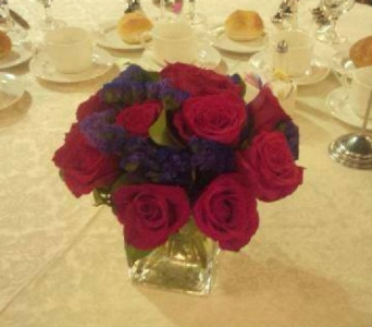 Red and Blue in Bayside NY, Bell Bay Florist