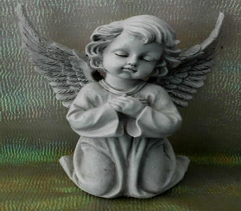 Angel Cherub in Tyler TX, The Flower Box