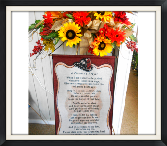 A Fireman's Prayer Tapestry in Tyler TX, The Flower Box
