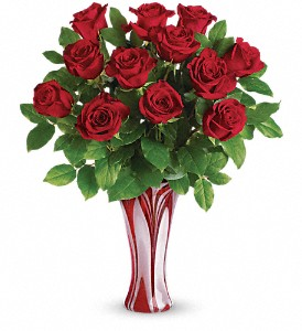 I Adore You Bouquet by Teleflora in The Woodlands TX, Rainforest Flowers