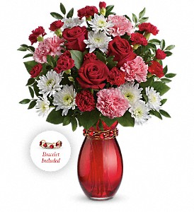 Teleflora's Sweet Embrace Bouquet in The Woodlands TX, Rainforest Flowers