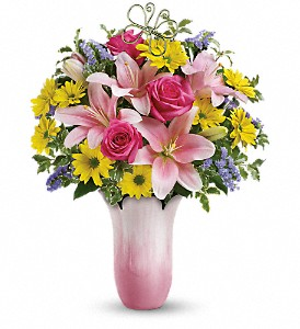 Teleflora's Pretty Petal Bouquet in Quitman TX, Sweet Expressions