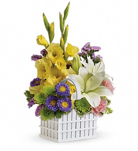 A Garden's Gifts Bouquet by Teleflora in Lansing MI, Delta Flowers