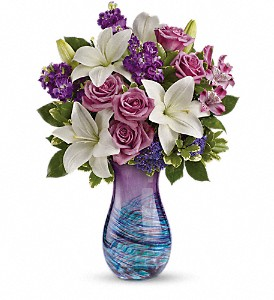 Teleflora's Artful Elegance Bouquet in Muskegon MI, Barry's Flower Shop
