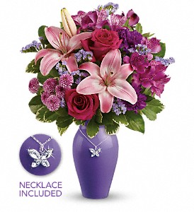 Teleflora's Beautiful Butterfly Bouquet in Muskegon MI, Lefleur Shoppe