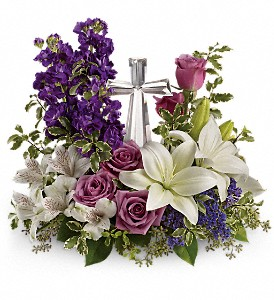 Teleflora's Grace And Majesty Bouquet in Oklahoma City OK, Array of Flowers & Gifts
