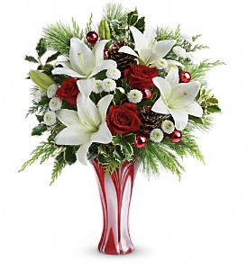 Teleflora's Holiday Artistry Bouquet in South Orange NJ, Victor's Florist