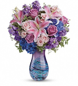Teleflora's Opulent Artistry Bouquet in Oklahoma City OK, Array of Flowers & Gifts