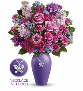 Teleflora's Roses And Butterflies Bouquet in San Antonio TX, Allen's Flowers & Gifts