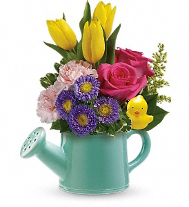 Teleflora's Send a Hug Sunny Spring Bouquet in Jupiter FL, Anna Flowers