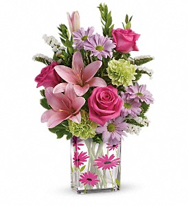 Teleflora's Thanks In Bloom Bouquet in Wake Forest NC, Wake Forest Florist