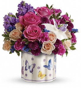 Teleflora's Dancing In Joy Bouquet in Belford NJ, Flower Power Florist & Gifts