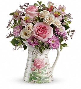 Teleflora's Fill My Heart Bouquet in Albion NY, Homestead Wildflowers