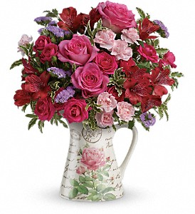 Teleflora's Simply Adored Bouquet in Maumee OH, Emery's Flowers & Co.