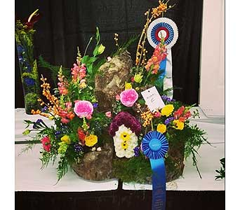 Julie Vaughan � 1st Place and Best in Show � NC State Fair 2014 in Wake Forest NC, Wake Forest Florist
