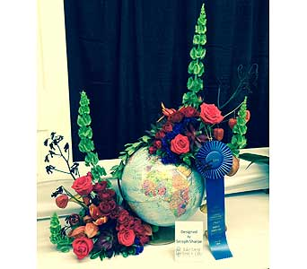 Seraph Sharpe � 1st Place � 2014 NC State Fair in Wake Forest NC, Wake Forest Florist