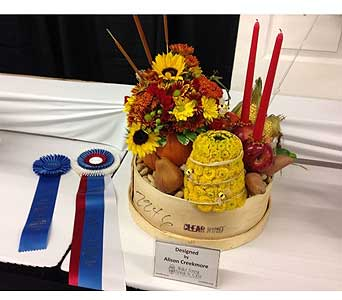 Alison Creekmore � 1st Place & Best in Show � NC State Fair 2014 in Wake Forest NC, Wake Forest Florist