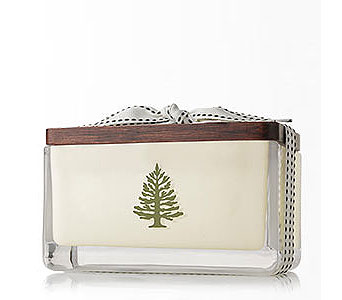 Frasier Fir Holiday 2 Wick Candle in Detroit and St. Clair Shores MI, Conner Park Florist