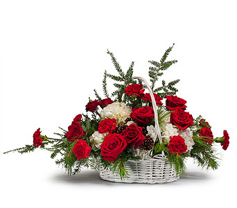Premium Holiday Basket in Casper WY, Keefe's Flowers
