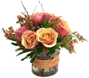 Roses by bell flowers silver spring cherry brandy delight in silver spring md bell flowers inc mightylinksfo