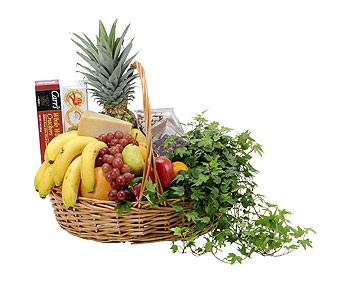 Fabulous Fruit and More Basket in Lake Elsinore CA, Lake Elsinore V.I.P. Florist
