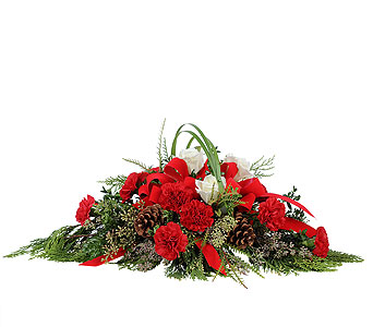 Tidings of Joy in Amherst NY, The Trillium's Courtyard Florist