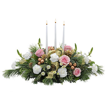 Glowing Elegance in Dover OH, Baker Florist, LLC