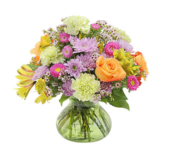 Spring Glory in Mount Morris MI, June's Floral Company & Fruit Bouquets