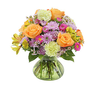Spring Galore in Mount Morris MI, June's Floral Company & Fruit Bouquets